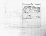 SCRC ID: 3313. Expediente concerning formation of Regimiento Fixo, 1790.