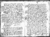 SCRC ID: 6979. Document relating to the genealogy of Juan de Oñate and his admission to the Order...
