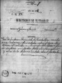 SCRC ID: 6919. Correspondence relating to the documentation of an area of land to be used in the...