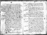 SCRC ID: 6980. Document relating to the genealogy of Juan de Oñate and his admission to the Order...