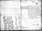 SCRC ID: 6893. Letter relating to the arrival of Pedro Wouves D'Arges in New Orleans, 1788.