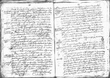 SCRC ID: 7012. Document relating to the genealogy of Juan de Oñate and his admission to the Order...