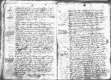SCRC ID: 6952. Document relating to the genealogy of Juan de Oñate and his admission to the Order...