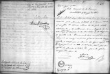 SCRC ID: 6918. Letter to the Minister of War relating to the revolt of an artillery brigade to...