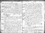 SCRC ID: 7005. Document relating to the genealogy of Juan de Oñate and his admission to the Order...