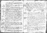 SCRC ID: 6996. Document relating to the genealogy of Juan de Oñate and his admission to the Order...