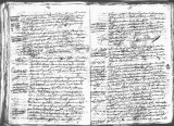 SCRC ID: 6966. Document relating to the genealogy of Juan de Oñate and his admission to the Order...