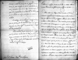 SCRC ID: 6835. Translation of a letter and an abstract regarding disputes over commercial rights...