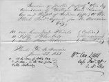 23 June 1853 Invoice of public property turned over by Lane to Steck, Santa Fe