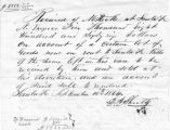 10 Sept 1864 receipt to Steck from L.A. Shultz for $5866.