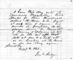 "17 Dec 1865 Meadville, PA, Henry C. Johnson to Steck, discussion of plans for ""Montezuma..."