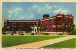 St. Joseph Sanatorium and Hospital -- Albuquerque, New Mexico postcard