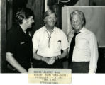 "Eddie Albert and Robert Hartford-Davis film ""The Take"" in Albuquerque"
