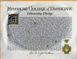 American College of Physicians Fellowship Pledge