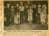 Annual Dinner 1929 Chicago