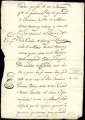Receipt of partial payment and promise of payment between Don Melchor de Castañeda and Don...