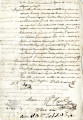Fragment of a testimony of legitimacy and honorability of Josef Mariano Ribero. Undated