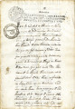 Land documents: land transfer from Anselmo Soles to Antonio Jose Morales, Tlascoaque 1791 and...