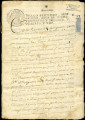 Property deeds, and ecclesiatical documents in favor of the Convent and monastery of Antequera,...