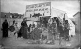 """Apache Headquarters at Tertio-Millennial. Santa Fe, New Mexico"""