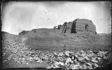 """Ruins of Old Pecos Church, Pecos Valley, New Mexico"""