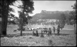 """Camp on Whiskey Creek near Flagstaff, Arizona"""