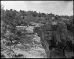 """Ruins on the Navajo Reservation, Eighteen Mile Spring, Arizona"""