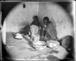 """A Trip to Zuni, Zuni Women grinding meal"""