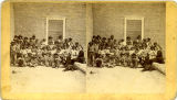 Pueblo children at Albuquerque Indian School, New Mexico