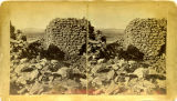 Ruins at Pecos Pueblo, New Mexico