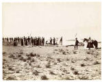 Site of ancient Zuni, camp of General Logan and party, New Mexico