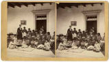 The Sewing Class, Indian School, Albuquerque, New Mexico