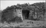 """Cave of the Winds [Kit Carson Cave], Sierra Madre Mountains, New Mexico"""