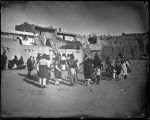 """View in Pueblo Laguna, Inaguration Dance, January 12, 1887"""