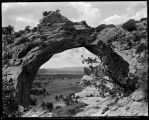 """The Window in the Haystacks Near Fort Defiance, Arizona"""