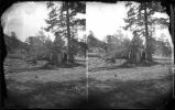 """The Robbers Roost near Summit of Glorieta Mountain (New Mexico) on Line of A.&P.R.R.,..."