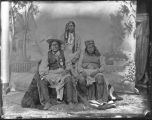 """San Juan and Nodzilla, Mescalero Apaches"""