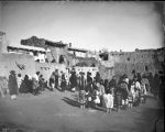 """Dance of Laguna Indians, Inauguration Dance, January 12, 1887"""
