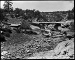 """A Natural Bridge near Fort Defiance, Arizona"""