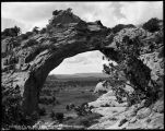 """The Window in the Haystacks, near Fort Defiance, Arizona"""