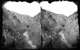 """View in Apache Canon Looking down the Canon, October 1880"""