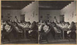 A visit to the Indian School Dining Room at Albuquerque, New Mexico""
