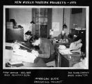 """American Guide Reporting Project, First Office, December 1935"", Santa Fe, New Mexico"