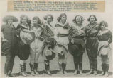 """Western Queens of the saddle who have been entered in the various championship events for..."