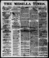 The Mesilla Times 1861-06-08