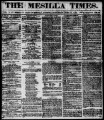 The Mesilla Times 1861-06-15