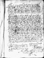 SCRC ID: 3102. Patente for fray Blas Pulido to join missionary party to Florida, 1721.