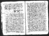 Document by Diego Ramirez (juez) and Cristobal de Heredia (scribe) on the interrogation of Juan...